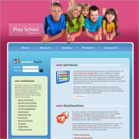 Website Template Vorlage Spielen Schule Vorlage Schule Kostenlose Website Vorlagen