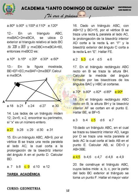 5 F Y C ejercicios pr 225 cticos de geometr 237 a monografias