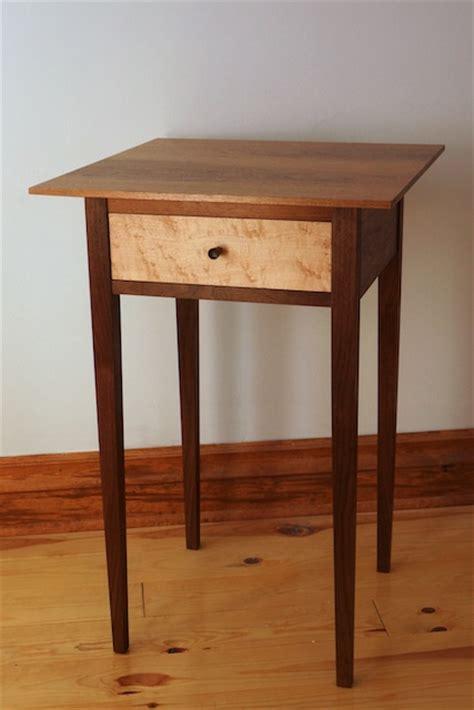 shaker side table plans plans diy bunk bed plans  desk  sassyxbm