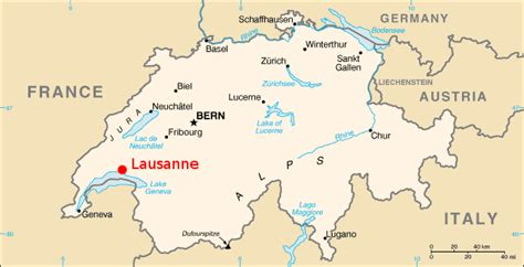 major cities in switzerland map lausanne map and lausanne satellite image