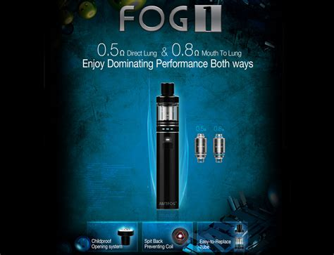 Justfog Fog1 Replacement Coil Cylinder For Mtl User Authentic justfog fog1 starter kit 1500mah stainless