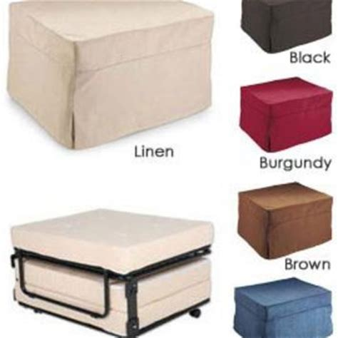 ottoman with fold out bed fold out ottoman bed folding bed ottoman from solutions