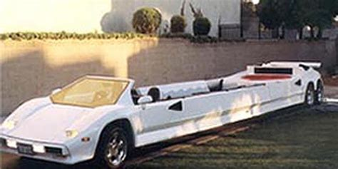 Lamborghini Countach Limousine by Countach Stretch Limousine The Story On Lambocars