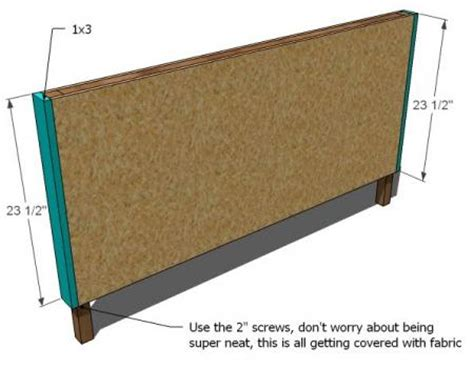 padded headboard plans attempting aloha diy upholstered toddler bed couch plans
