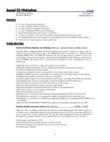 quality assurance resume samples free sample resumes