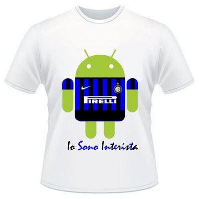 T Shirtkaos Android 3 kaos bola inter io sono interista android kaos bola distro