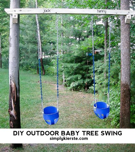 child tree swing outdoor projects simply kierste design co