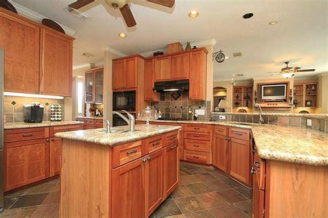 tile floor honey oak cabinets google search for the home pinterest honey oak cabinets