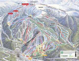 winter park colorado resort ski trail map