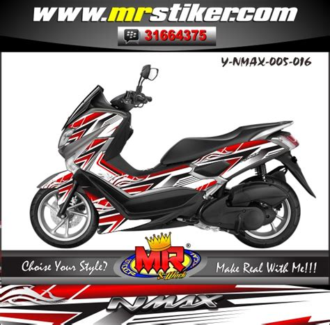 Cutting Nmax Elegan by Nmax Elegan Tribal Stiker Motor Striping Motor Suka