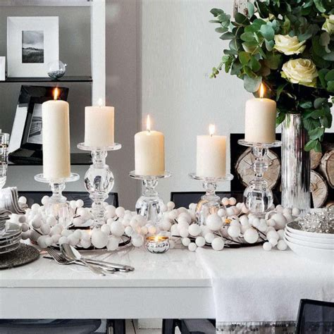 table decor items 50 stunning christmas table settings inspiration