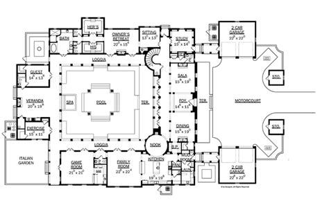 italian villa floor plans 301 moved permanently
