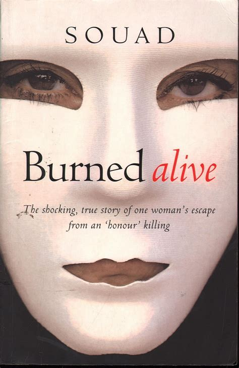 burning myself alive books souad burned alive sc book