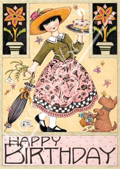 Butterfly Birthday Greeting Card ? Mary Engelbreit