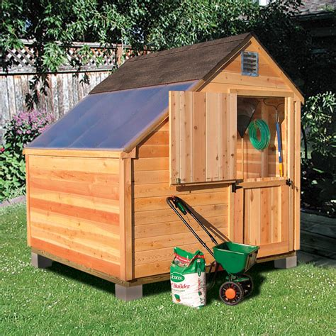 Sheds And Installation by Cedar Garden Sheds Sears