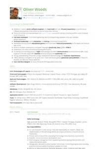 Lead Application Developer Sle Resume by Lead Developer Resume Sles Visualcv Resume Sles Database