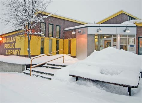 Wasilla Post Office Hours by Walking In A Wintry Wasilla Alaska At