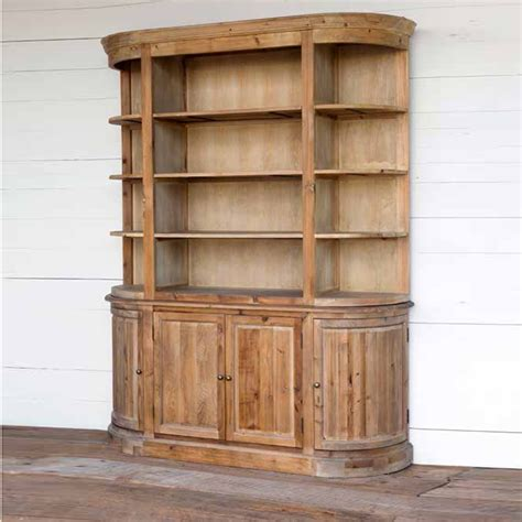 Hutch Branches Park Hill Collection Bow Fronted Hutch Na0301