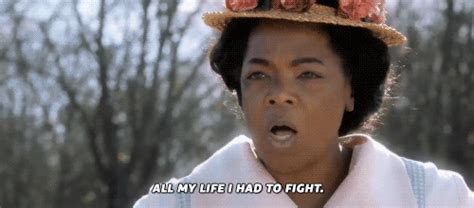 Oprah Winfreys The Color Purple Racial by Sofia Gifs Find On Giphy