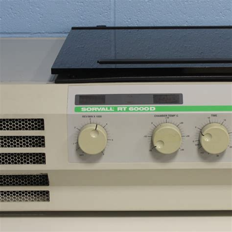bench centrifuge sorvall rt6000d benchtop refrigerated centrifuge