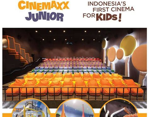 cinemaxx opening hours cinemaxx junior indonesia s first cinema for kids kids