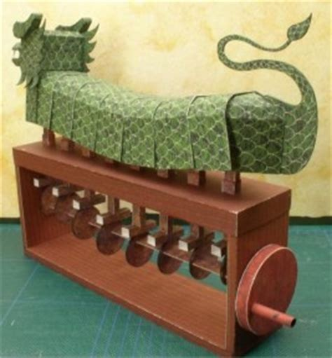 Papercraft Automata - free ish mechanical paper kit boing boing