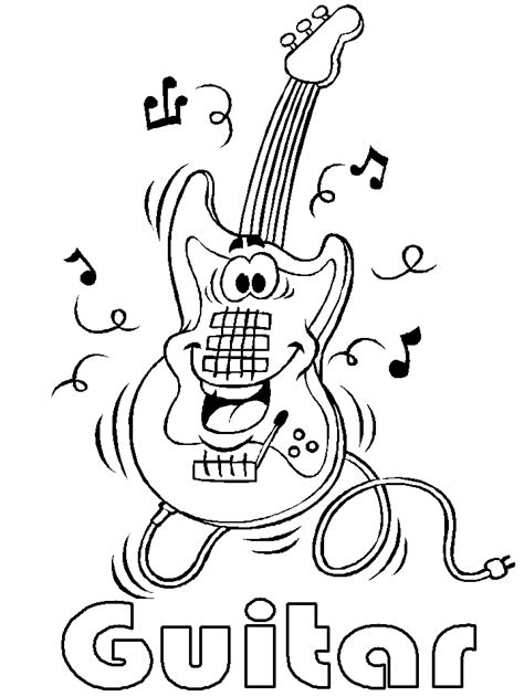 music coloring pages for kindergarten musical instrument coloring pages coloring home