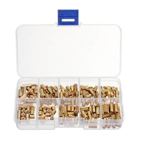Set Stand Spacer Kit M3x8mm 6 Hex 50pcs rjx hobby 150pcs m3 brass hex spacer set assortment kit alex nld