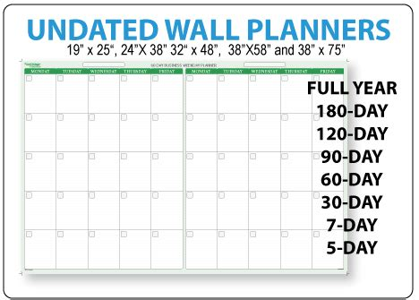 Erasable Wall Calendar Calendars And Planners Erase Wall Calendar