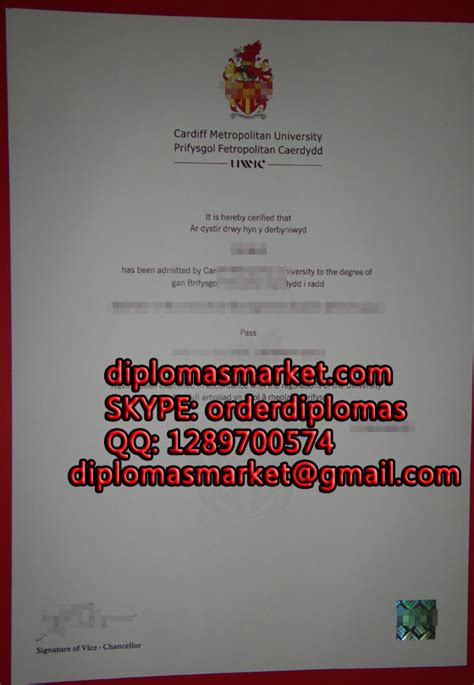 Cardiff Metropolitan Mba Certificate by How To Buy A Cardiff Metropolitan Degree