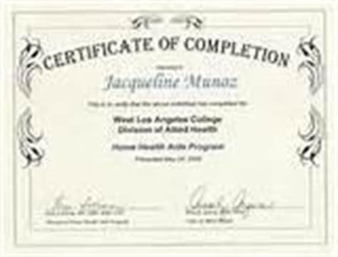 free hha certificatefree programs free