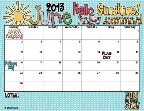 summer calendar template hello hello summer it s your june calendar