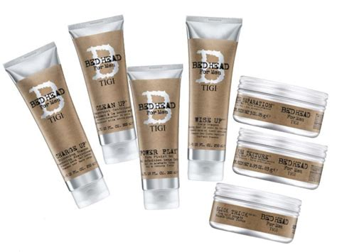 bed head for men bed head for men launces 2 new products modern salon