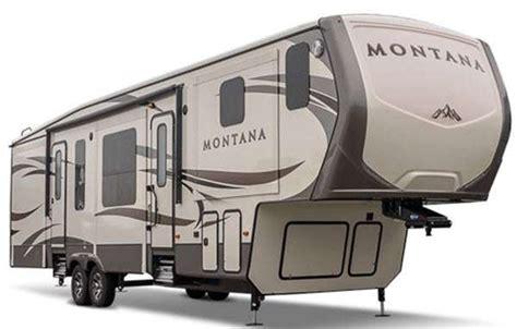Wildwood Campers Floor Plans by Montana Fifth Wheel