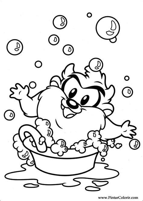 baby looney tunes coloring pages games tekeningen te schilderen kleur baby looney tunes print
