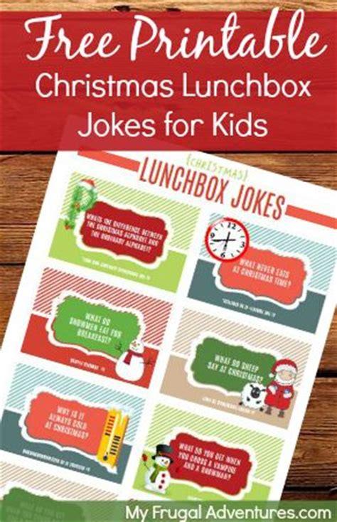 free printable lunchbox jokes christmas free printable christmas lunchbox jokes for children