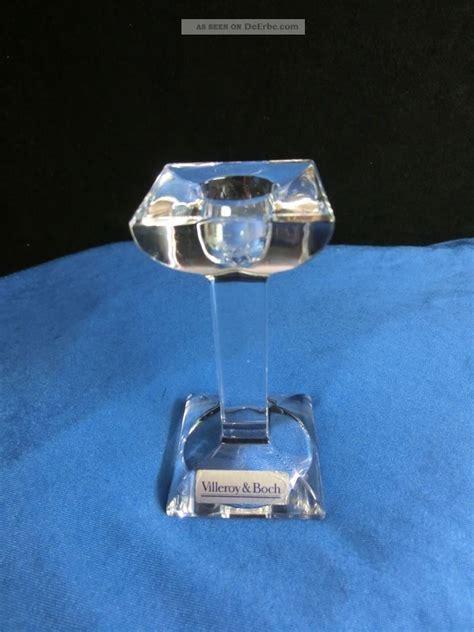 villeroy boch kerzenhalter glas kerzenst 228 nder leuchter villeroy boch glas kristall