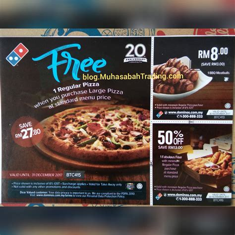 domino pizza nilai dominos pizza muar free pizza blog muhasabahtrading dot com