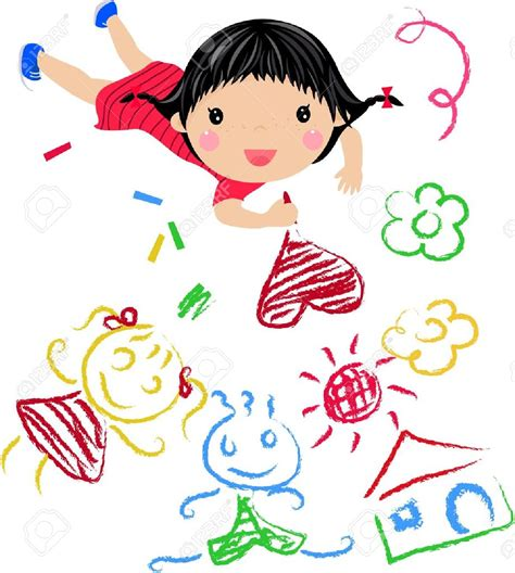 Clipart Kids Drawing Clipground Kid Drawing Picture