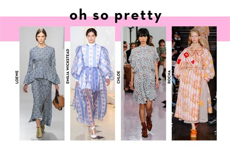 Summer 08 Trends Floral The High Looks by Ss18 Development Report Get Forward Get Em In Your