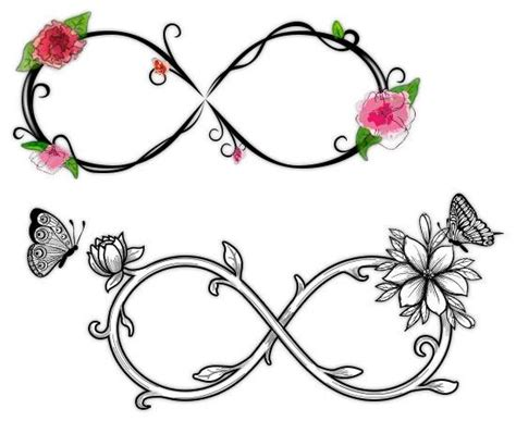 infinity symbol with a rose tattoo 11 really awesome infinity symbol designs