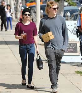 Light Up Kids Shoes Emma Roberts And Evan Peters Fuel Up Before Furniture