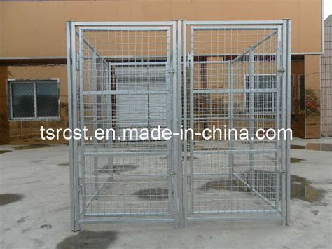 galvanised dog kennel sections china 2 section dog kennel china galvanized welded wire