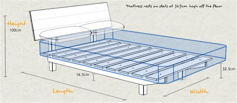 Mattress Height by Low Shoreditch Bed Space Saver Get Laid Beds
