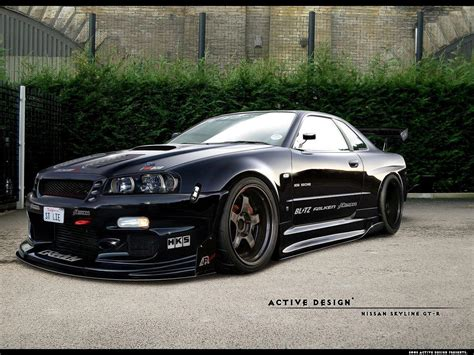 nissan skyline r34 modified nissan skyline gtr r34 wallpapers wallpaper cave