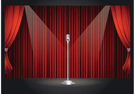 free stage background design vector free vector retro theater stage download free vector art