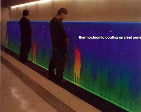 Boys In Bathroom by Thermochromic Makes