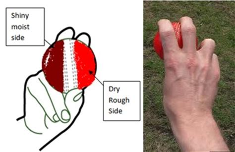 wrist position for swing bowling cricket techniques naveen tecs