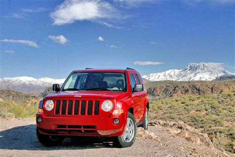 2008 Jeep Patriot Review 2008 Jeep Patriot Pictures Photos Gallery Green Car Reports