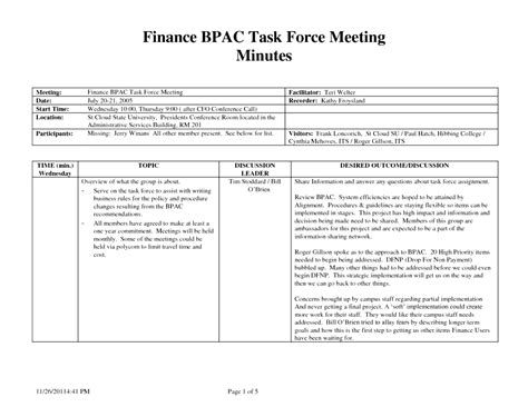 minutes of meeting format pdf best of minutes meeting format pdf
